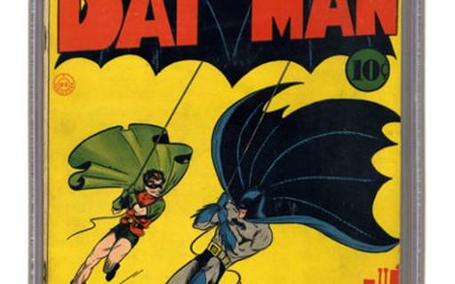 Exemplar de 'Batman #1' é vendido por R$12 milhões