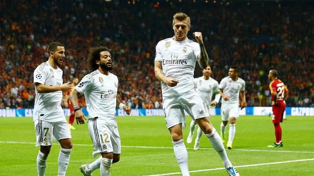 Gol Kroos, Galatasaray x Real Madrid, Liga dos Campeões