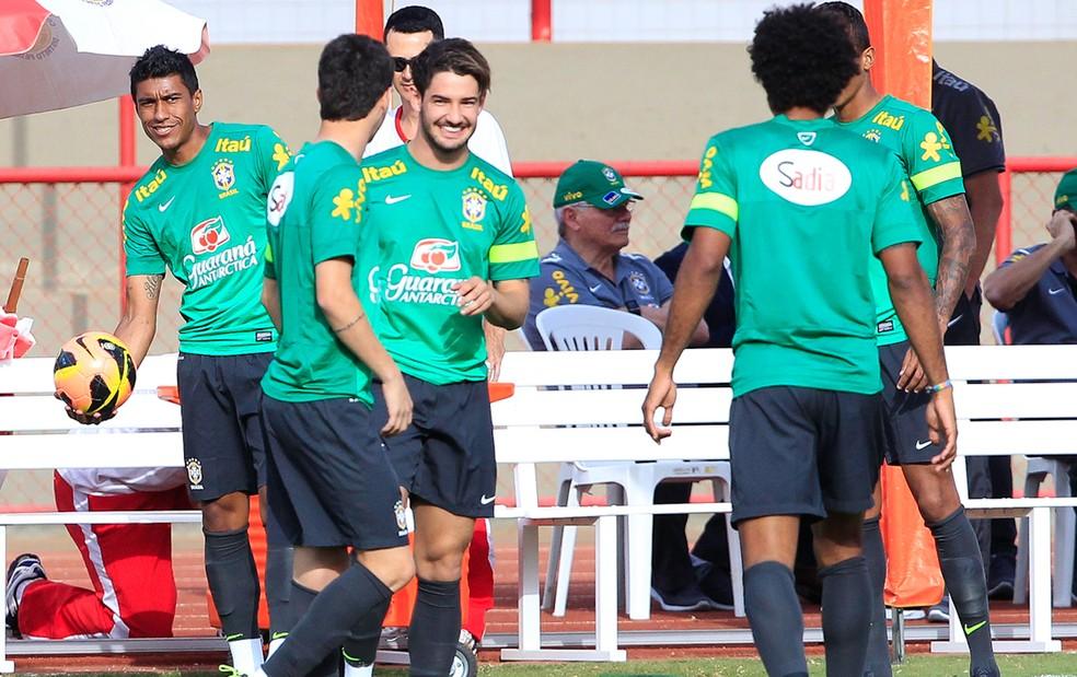 Alexandre Pato sonha em voltar a defender a seleção brasileira — Foto: Bruno Spada / Vipcomm