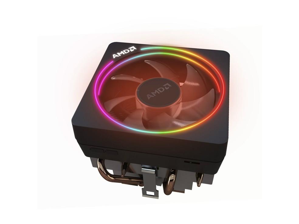 Cooler ajuda a resfriar o processador — Foto: Divulgação/AMD