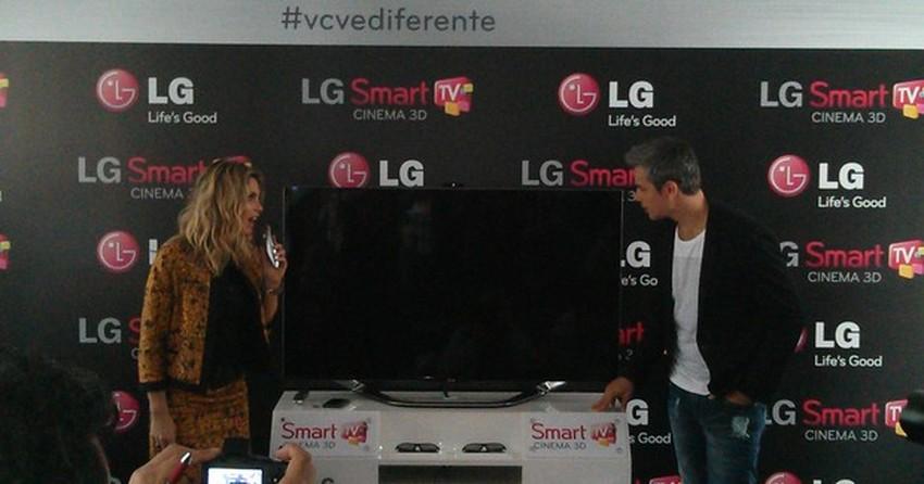 LG apresenta nova linha de Smart TV Cinema 3D com foco em redes sociais