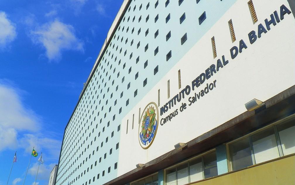 Campus de Salvador fica localizado no bairro do Barbalho — Foto: Divulgação/IFBA