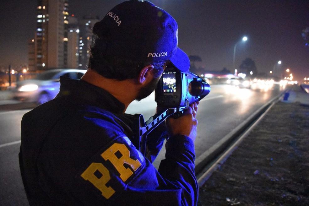 Radares móveis (arquivo) — Foto: PRF/Divulgação