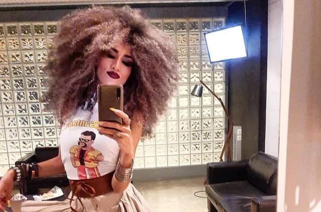 Tatiane Melo, mulher de Babu Santana (Foto: Reprodução/Instagram)