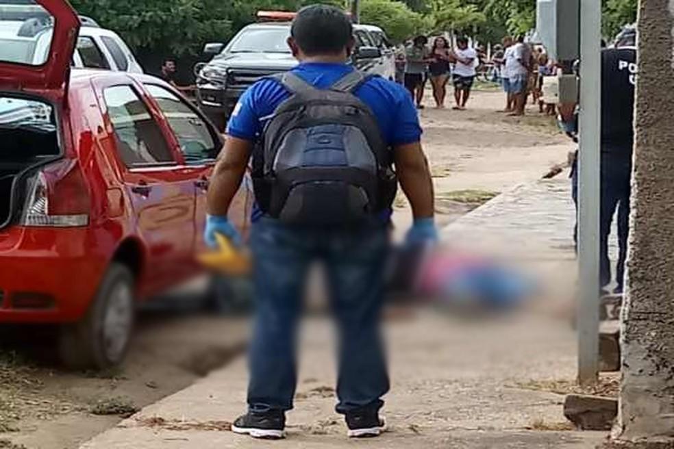 Sargento da PM do Piauí e esposa são mortos durante assalto em Timon. — Foto: Divulgação/Redes sociais.