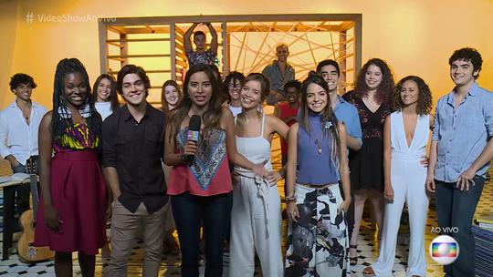 'Vídeo Show' apresenta o elenco de 'Vidas Brasileiras'