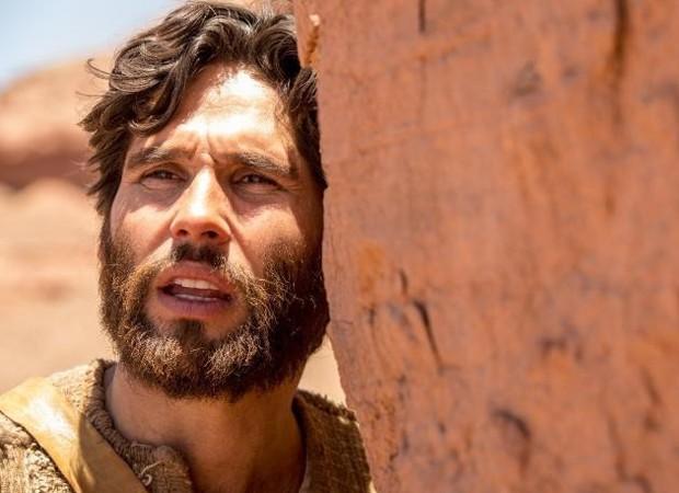 Dudu Azevedo é o protagonista de Jesus, novela da Record (Foto: Edu Moraes/Record TV)