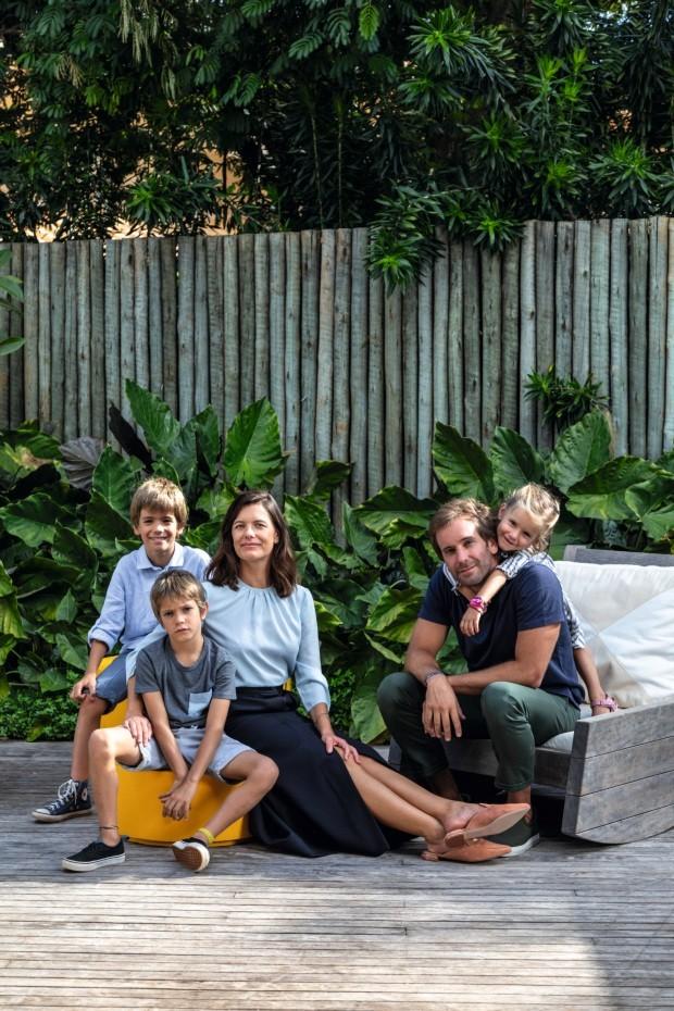Família ensina como viver perto do trabalho e cercada de natureza (Foto: Fran Parente)