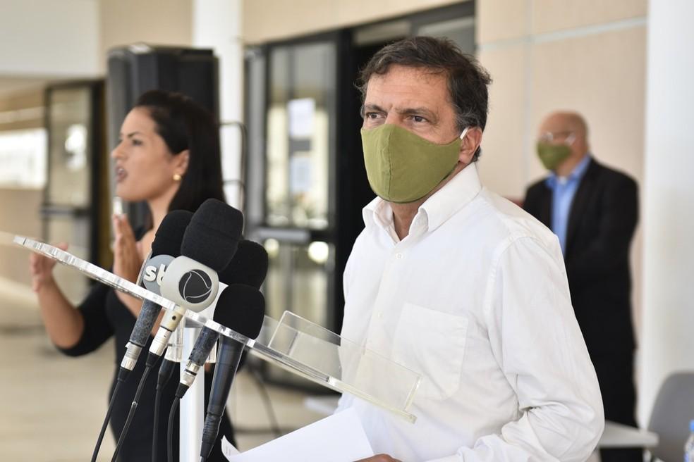 Petrônio Spinelli, secretário adjunto de Saúde do RN — Foto: Elisa Elsie