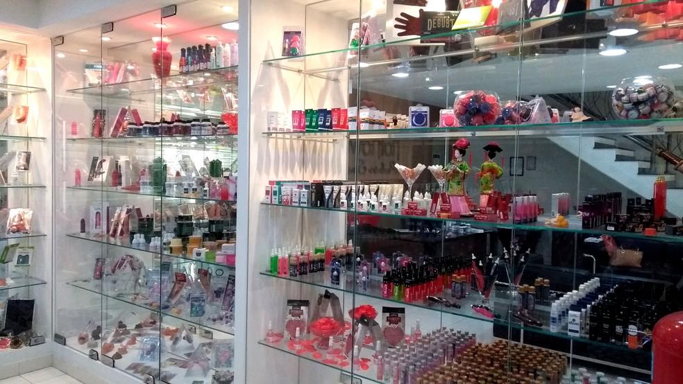 Recepção da fábrica Hot Flowers, em Indaiatuba (Foto: Patrícia Teixeira / G1)