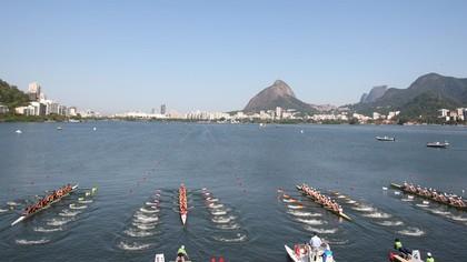 Largada Mundial Junior de Remo no Rio de Janeiro (Foto: Igor Meijer / FISA)