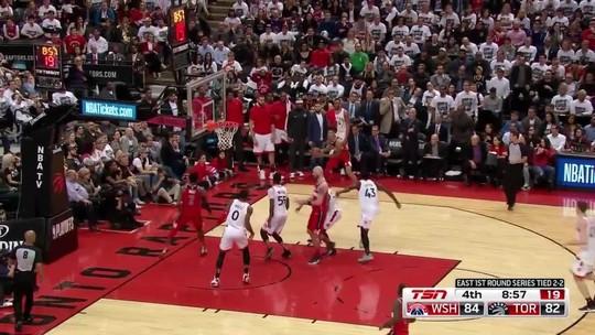 Melhores momentos de Toronto Raptors 108 x 98 Washington Wizards pela NBA