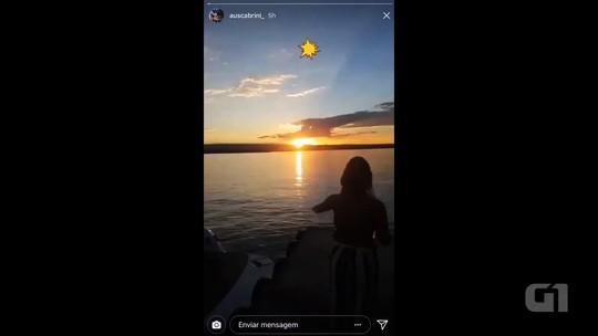 Veterinário que morreu ao fazer selfie gravou vídeo antes de cair no Lago Corumbá, em Caldas Novas