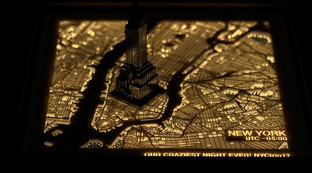 cidade; luminária (Foto: Divulgação)