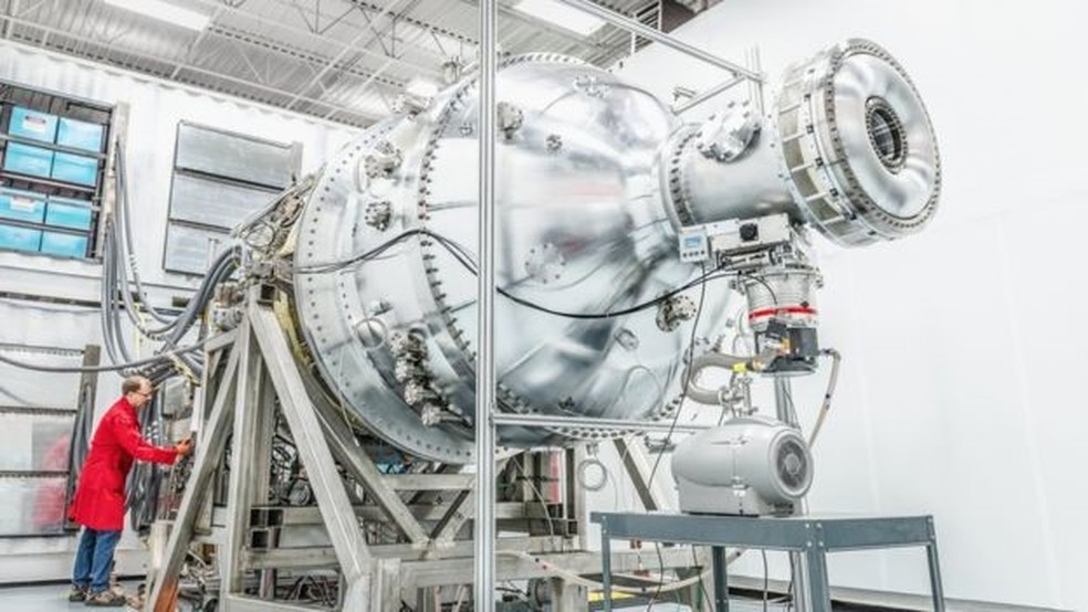 A General Fusion acredita que seu método poderá ser testado em cinco anos — Foto: General Fusion/Divulgação/BBC