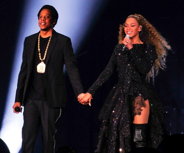 Beyoncé e Jay-Z (Foto: BackGrid)
