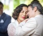 Gloria Pires e Cassio Gabus Mendes como Lola e Afonso em 'Éramos seis' | Paulo Belote/TV Globo
