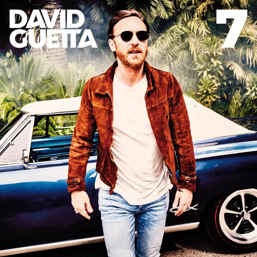 Capa do álbum '7' de David Guetta — Foto: Divulgação