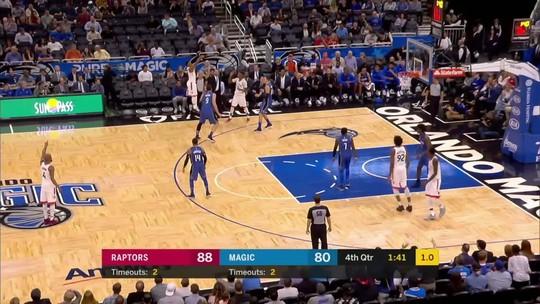 Melhores momentos: Toronto Raptors 93 x 86 Orlando Magic pela NBA
