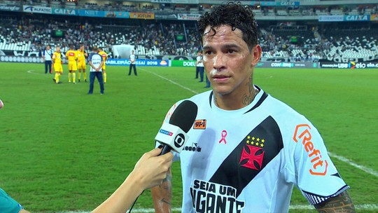 Giovanni Augusto erros do Vasco contra o Botafogo