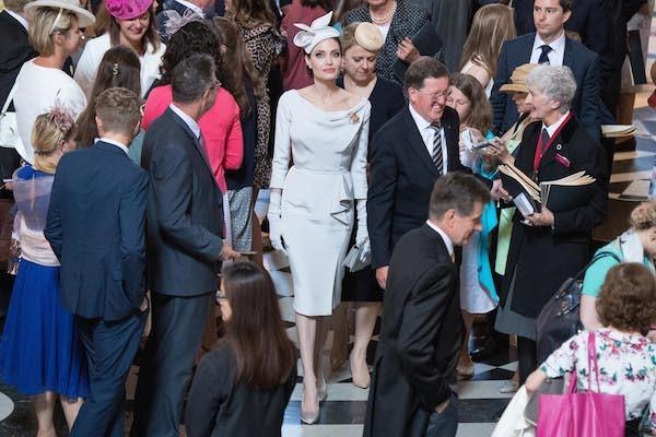 A atriz Angelina Jolie em um evento na Inglaterra (Foto: Getty Images)