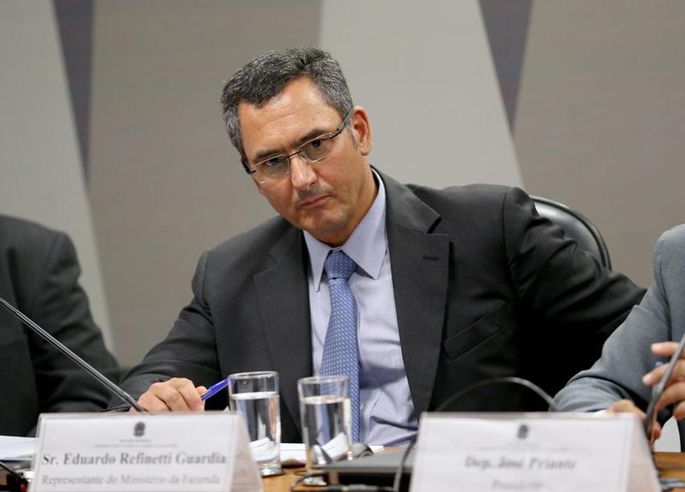 O novo ministro da Fazenda, Eduardo Guardia, que assume no lugar de Henrique Meirelles (Foto: Agência Brasil)