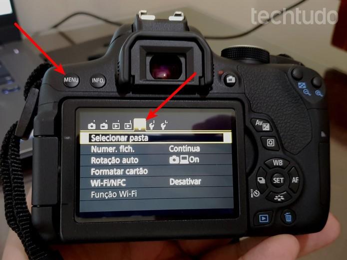 Como usar o Canon Camera Connect para conectar a câmera