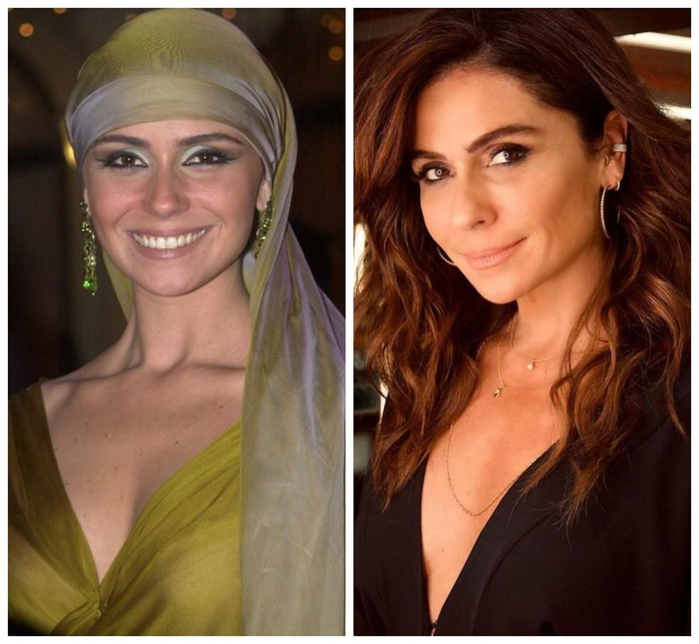 Giovanna Antonelli fala da importância de Jade, sua personagem em 'O Clone', reexibida no Viva — Foto: Divulgação/Reprodução Instagram