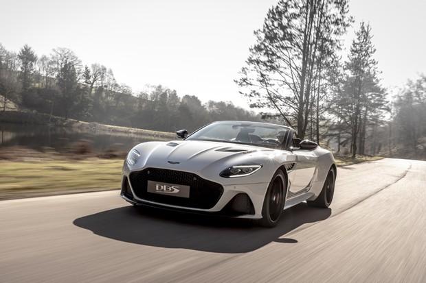 Aston Martin DBS Superleggera Volante (Foto:  Divulgação)
