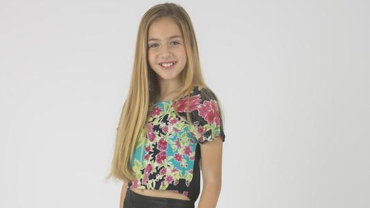 Conheça Nicolle Castro, participante do 'The Voice Kids'