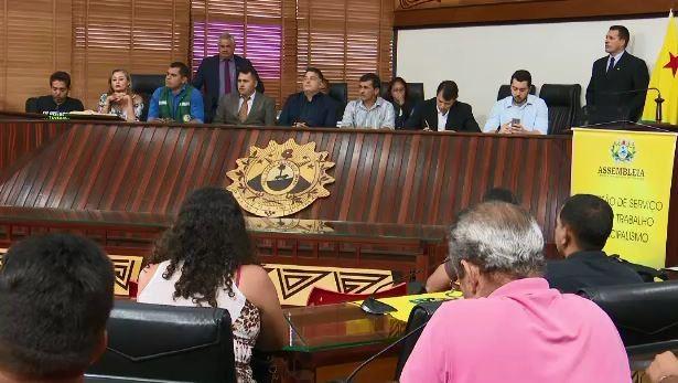 RBTrans e Sindcol não comparecem em audiência pública na Aleac e deputados decidem abrir CPI do transporte público