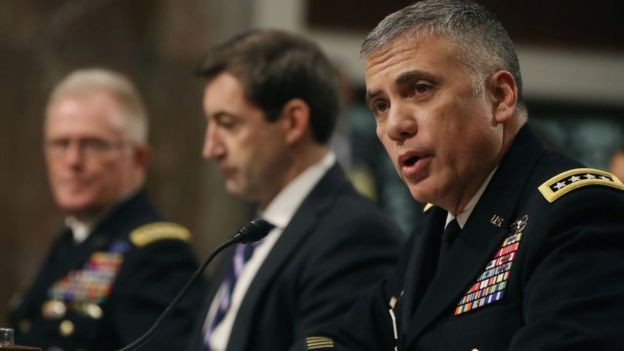 O general Paul M. Nakasone é o chefe do Comando Cibernético dos Estados Unidos (Foto: GETTY IMAGES/BBC News Brasil)
