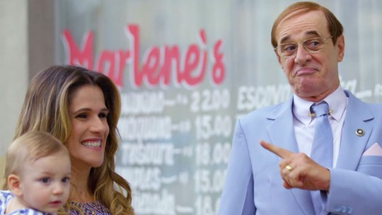 Marlene pede dinheiro ao pai e faz festa de aniversário bombástica para o filho