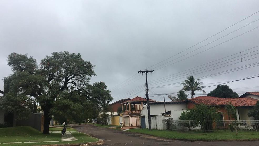 Ponta Porã deve ter temperatura de 14°C nesta terça-feira (23) — Foto: Martim Andrada/TV Morena