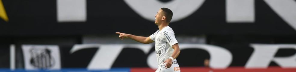 Marcos Guilherme, do Santos — Foto: Ivan Storti/SantosFC