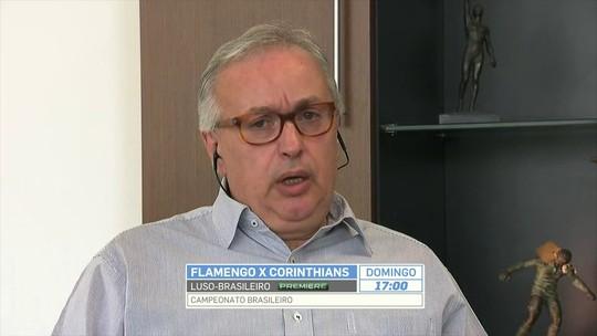 """Presidente promete Corinthians mais forte em 2018: """"Quatro a cinco atletas"""""""