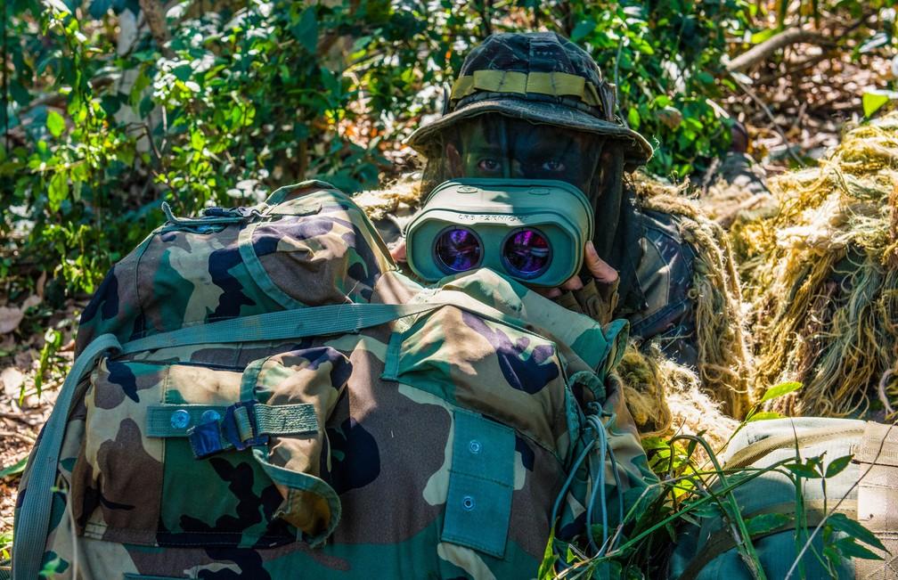 Exército Brasileiro  — Foto: Exército Brasileiro/ Divulgação