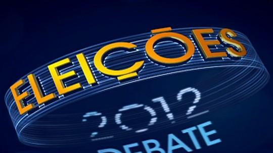 Debate Eleições 2012 - Rio de Janeiro - Quinto bloco