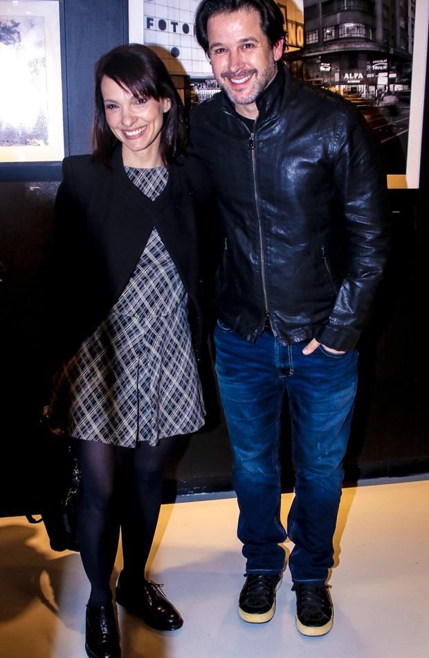 Cynthia Falabella e Murilo Benício (Foto: Manuela Scarpa/Brazil News)