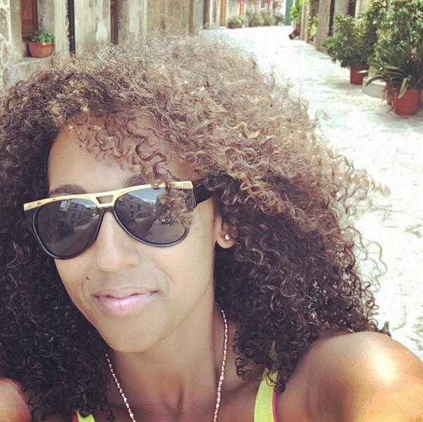 Danielle Brown, irmã da cantora Mel B (Foto: Instagram)