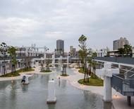 Shopping abandonado dá lugar a parque e piscina pública em Taiwan