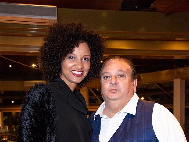 Rosângela Menezes e Erick Jacquin (Foto: Divulgação/ Daniela Ramiro)