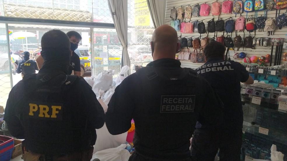Operação iClosed visa combater o contrabando, descaminho e sonegação de impostos em RO — Foto: PRF/Divulgação