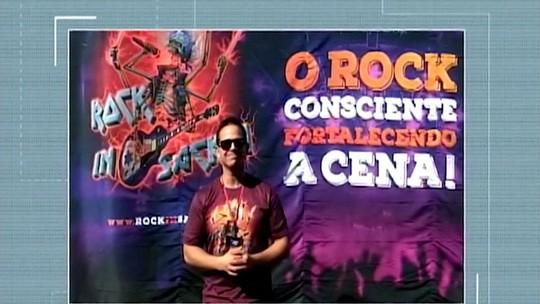 Festival 'Rock in Sacra' agita Sacramento neste sábado