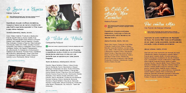 Sesi promove programação de espetáculos online e gratuitos no interior de SP