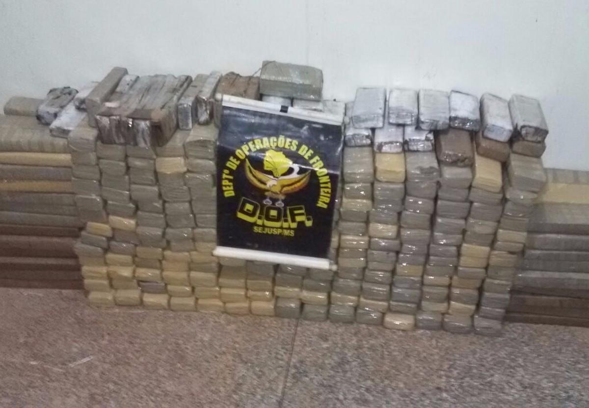 Jovem é preso transportando 163 quilos de maconha em rodovia de MS