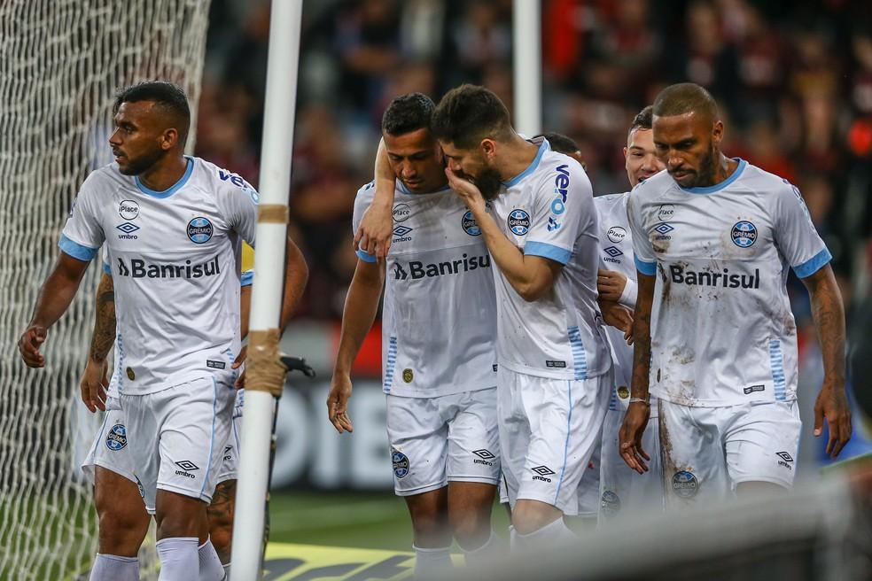 Grêmio mantém estratégia de utilizar time reserva no Brasileirão (Foto: Lucas Uebel/Grêmio/Divulgação)