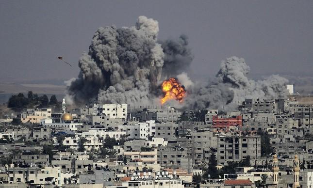 Bombardeio em Gaza, no Iraque, em 2014