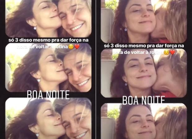 Priscila Montadon e Fernanda Gentil (Foto: Reprodução )