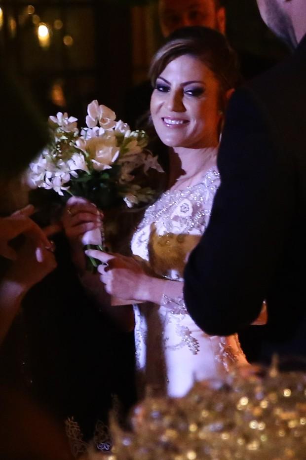 Casamento Fábio Jr. e Maria Fernanda (Foto: Manuela Scarpa/Brazil News)